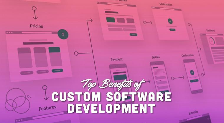 Top Benefits of Custom Software Development
